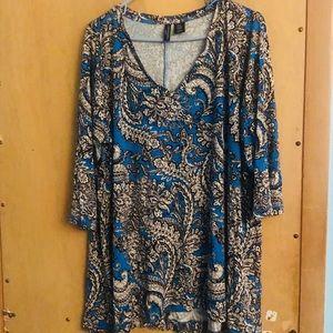 Cynthia Rowley beautiful blouse 2x